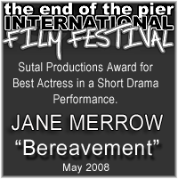 Jane Merrow Best Actress Award
